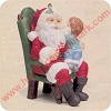 1991 Secrets For Santa, Club includes standHallmark Christmas Ornament