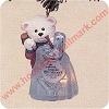 1991 Beary Artistic, Club - LightedHallmark Christmas Ornament