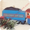 1992 Christmas Sky Line Coal CarHallmark Christmas Ornament