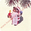 1992 Santas Club ListHallmark Christmas Ornament