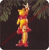 1995 Winnie the Pooh and TiggerHallmark Christmas Ornament