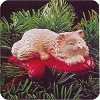 1995 Cat Naps #2Hallmark Christmas Ornament