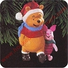 1996 Winnie the Pooh and PigletHallmark Christmas Ornament