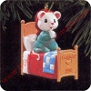 1996 GodchildHallmark Christmas Ornament