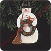 1996 Christmas SnowmanHallmark Christmas Ornament