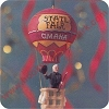 1996 Wizard of Oz - Wizard in BalloonHallmark Christmas Ornament