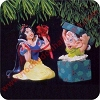 1997 Snow White and Dopey - set of 2