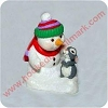 1998 Snow Buddies RARE ColorwayHallmark Christmas Ornament