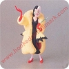 1998 Unforgettable Villains #1 - Cruella de VilHallmark Christmas Ornament
