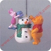 1998 Building a SnowmanHallmark Christmas Ornament