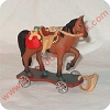 1999 Pony for Christmas RARE ColorwayHallmark Christmas Ornament