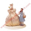 1999 Dorothy and GlindaHallmark Christmas Ornament