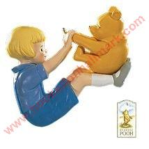 Winnie the Pooh & Christopher Robin Too Hallmark Ornament Series