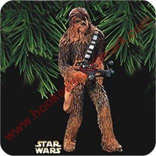 1999 Chewbacca, Star Wars Hallmark Ornament