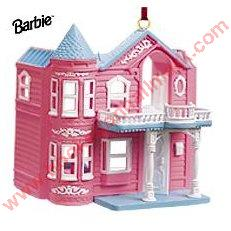 1999 Barbie Dreamhouse Hallmark Ornament