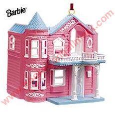 1999 Barbie Dreamhouse Hallmark Ornament
