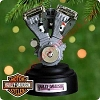 2000 Big Twin Evolution Engine, Harley - MagicHallmark Christmas Ornament