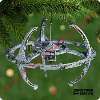 2001 Space Station Star Trek Hallmark Ornament
