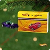 2001 Hot Wheels, Silhouette and CaseHallmark Christmas Ornament