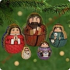 2001 Nesting Nativity, Club - set of 5