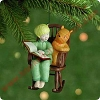 2001 Winnie Pooh and Chris Robin #3 Hallmark Christmas Ornament