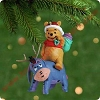 2001 Eeyore Helps Out, Winnie the PoohHallmark Christmas Ornament