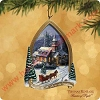 2002 Sunday Evening Sleigh Ride - Thomas Kinkade