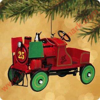 Metal Christmas Tree Ornament Display