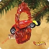 2002 Hot Wheels Sooo Fast - set of 2Hallmark Christmas Ornament