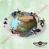 2003 Around the World Harley-Davidson - DBHallmark Christmas Ornament