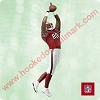 2003 Football Legends #9 - Jerry Rice 49erHallmark Christmas Ornament