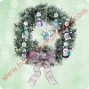 2003 Snowmans Land - Display Wreath - Hard to find!