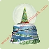 2004 Polar Express, Journey Water Globe - Light & SoundHallmark Christmas Ornament