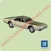 2004 Classic Am Cars #14 - 1966 Toronado Hallmark Christmas Ornament