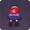 1975 Raggedy Andy Hallmark Christmas Ornament