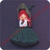 1975 Yarn Girl CarolerHallmark Christmas Ornament