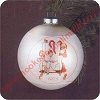 1975 Norman Rockwell Hallmark Christmas Ornament