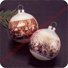 1975 Currier & Ives, Set of 2Hallmark Christmas Ornament