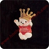 1990 Crown Prince, Club - MINIATUREHallmark Christmas Ornament