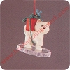 1990 Frosty Friends, Husky - MINIATUREHallmark Christmas Ornament