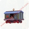 1992 Noel RR #4 - Miniature Box Car