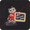 1992 A+ Teacher Raccoon - Miniature