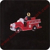 1993 North Pole Fire Truck - Miniature