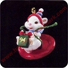 1994 Cute as a Button - MiniatureHallmark Christmas Ornament