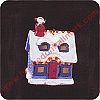 1995 Santa's Visit - LIGHTED - Miniature