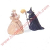 1998 Glinda & Wicked Witch - Miniature