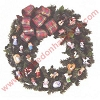 2001 Heart Of Collecting Wreath with 26 mini ornaments