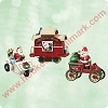 2003 Here Comes Santa - MiniatureHallmark Christmas Ornament