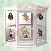 2003 Miniature Ornament Mirrored DisplayHallmark Christmas Ornament