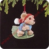 1988 Hold On Tight, Club - MINIATUREHallmark Christmas Ornament